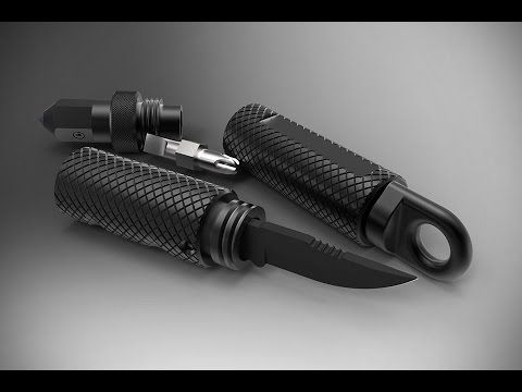 www.kleckerknives.com - Also available in titanium. The KLAX® is the answer for anyone who wants the utility of carrying an ax on their adventure but doesn't...