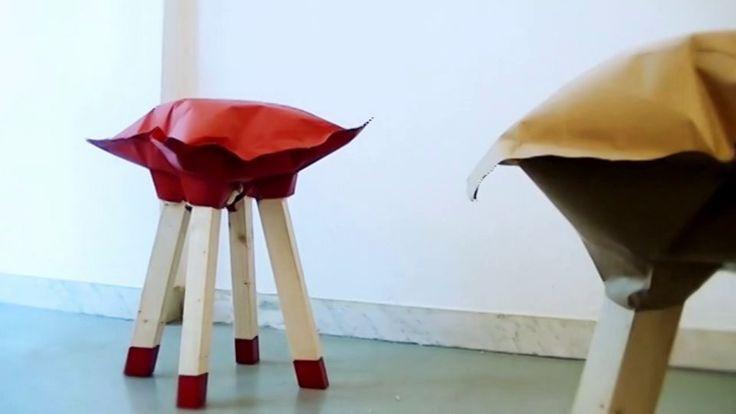 2h STOOL designer Giulio Patrizi