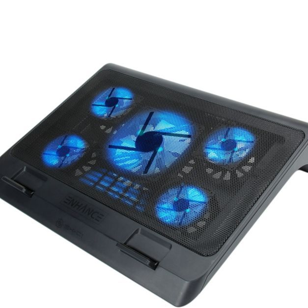 Enhance Gaming Laptop Cooling Pad Stand With Led Cooler Fans Qvc