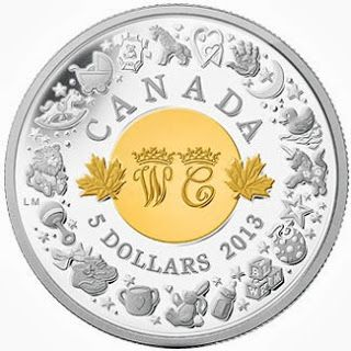 Silver Coins Celebrate the Birth of Prince George