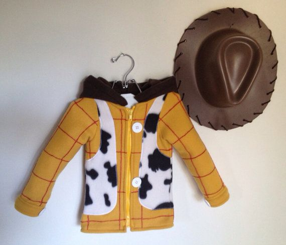 Toy Story Inspired Sheriff Woody Fleece hoodie shirt (Child sizes) Parker would love this!