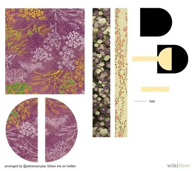 Immagine titolata Make a Kimono Girl Origami Step 1