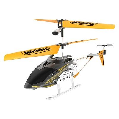 WebRC Iron Eagle Infrared Helicopter - Yellow (9 inches)