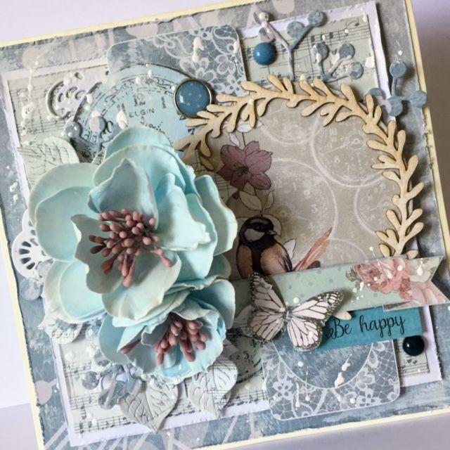 kartka, card, handmade, rękodzięło, dla kobiety, kwiaty, gość BloomCraft, Madośka