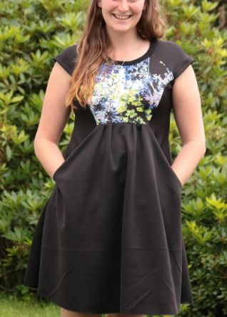 Ingrid's Zadie dress - sewing pattern by Tilly and the Buttons