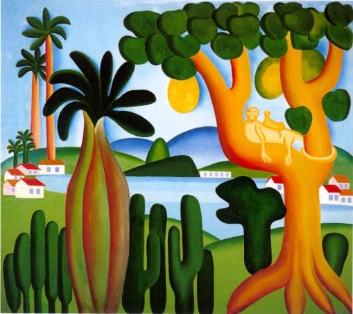 Cartão postal, 1928    Tarsila do Amaral (Brasil, 1886-1973)