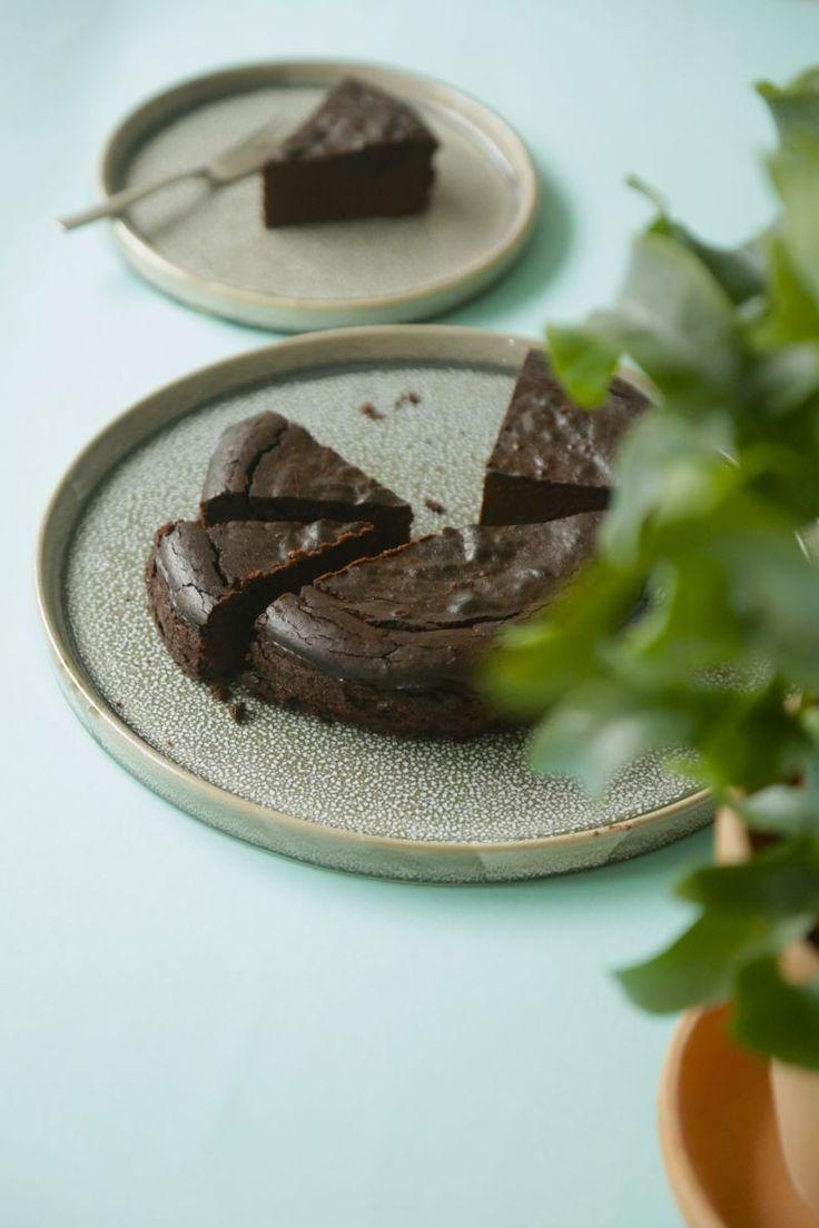 Sund chokoladekage med 5 ingredienser (glutenfri, sukkerfri, laktosefri)