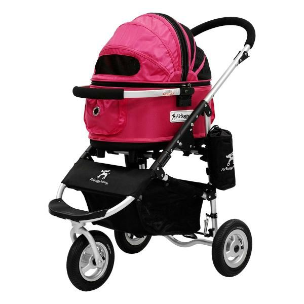 AirBuggy for Dog Dome SM Size Stroller Pink Small Dog Under 10kg JAPAN-01
