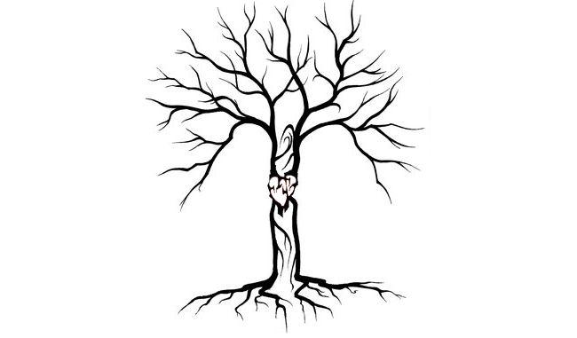 small tribal tree heart tattoo tattoo tabatha tattoo ideas rh pinterest ie tribal family tree tattoo tribal tree tattoo meaning