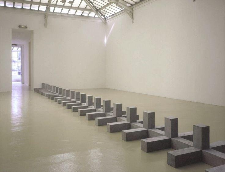 Carl Andre at Yvon Lambert. http://www.artexperiencenyc.com/social_login/