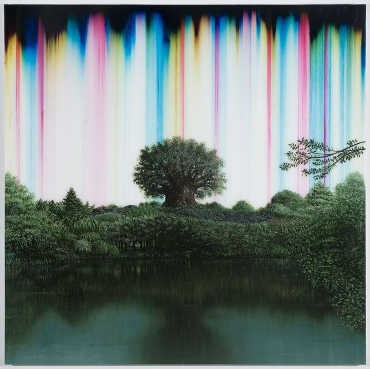 Synthetic Landscape 52 (Tree of life) by. Shane McAdams