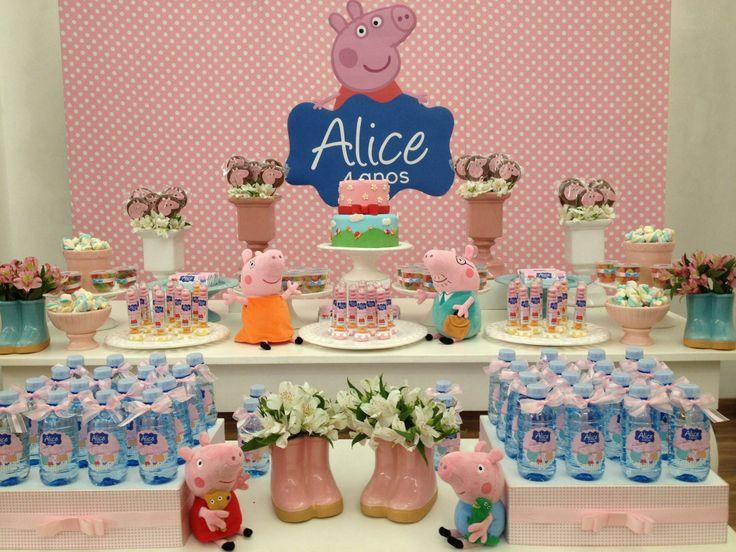Bruna Tilli Festas | Festa Peppa Pig