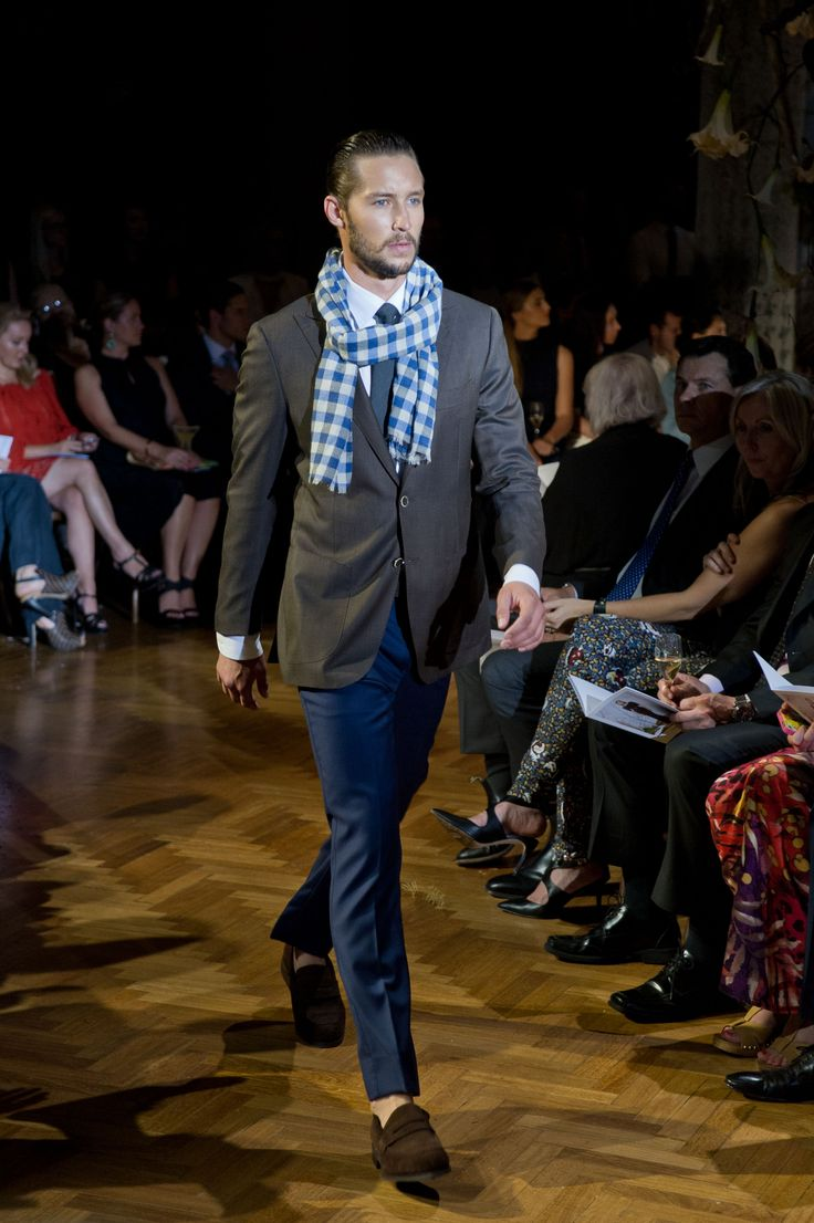 M.J. Bale Rossi brown jacket & Inverell navy trouser  © Esteban La Tessa - La Tessa Photography