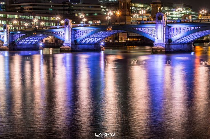 Southwark Bridge by Larry Jordan on 500px