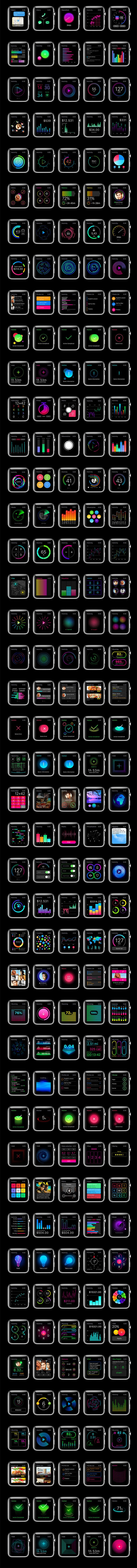 Apple Watch UI Kit | + Enahnce your #MacBook / #iMac experience , visit: http://pdsp.us/macbookcleanse