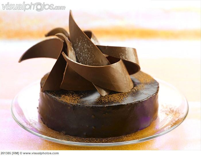 Decoration Of Chocolate Truffle Cake : 145 best images about Chocolate (Cakes&Decorations) on ...