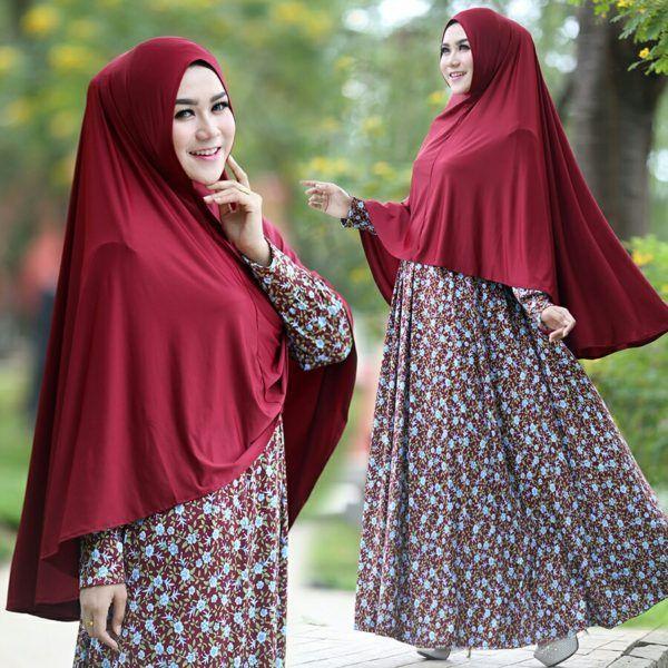 Baju Muslim Cantik Murah B125 Anjani Syar'i Terbaru - http://bajumuslimbaru.com/baju-muslim-cantik-murah-b125-anjani-syari