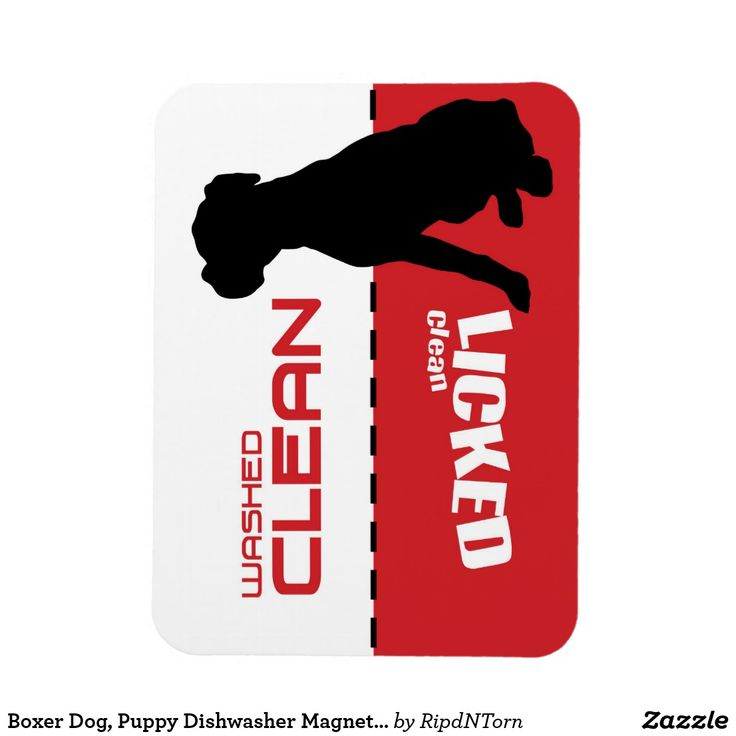 Boxer Dog, Puppy Dishwasher Magnet - Licked Clean Follow the link to see this product on Zazzle! @zazzle #dog #dogs #dogstuff #dogpin #pet #pets #animals #animal #fun #buy #shop #shopping #sale #dogowner #dogmom #dogdad #dogperson #dogpeople #kitchen #homedecor #magnets #magnet #refridgerator #funny #lol