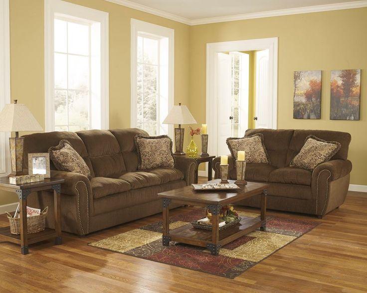حسب دراسات علمية إن اغلب مواليد شهر يناير يفضلون الألوان الترابية البني الداكن والذهبي Ashley Home Furniture Furniture Sofa Living Room Redo