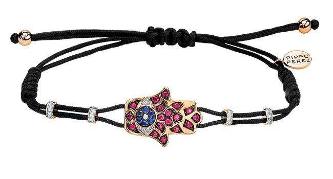 Cellini Jewelers Pippo Perez Ruby & Sapphire Fatima Hand