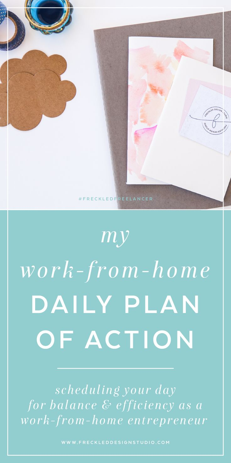The new normal - work-from-home daily plan of action (attack?).