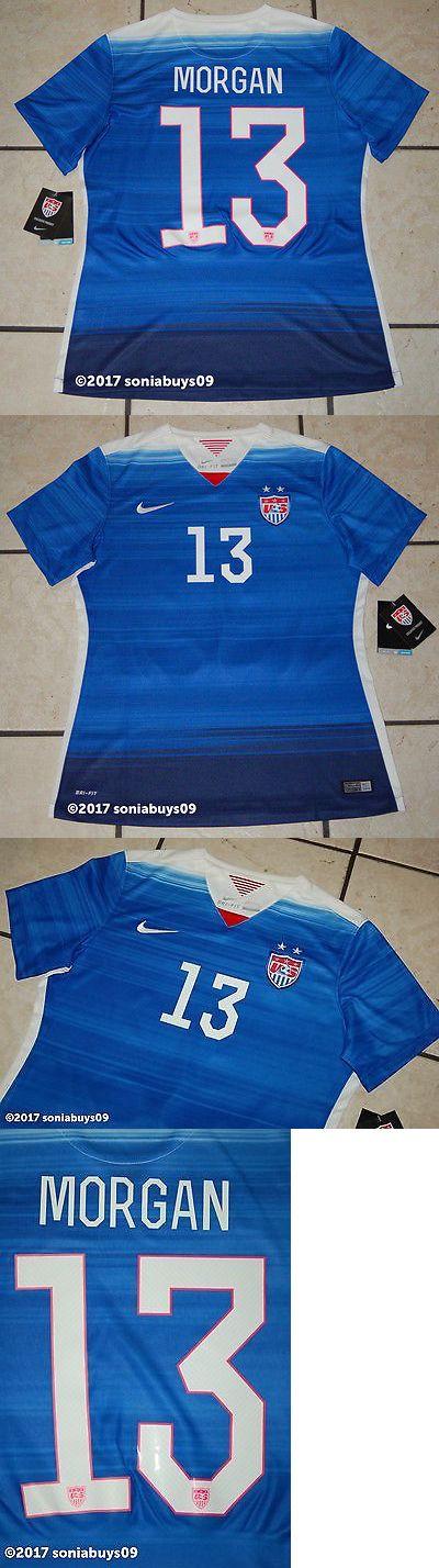 Women 159098: Nike Women S Morgan Usa Away Soccer Jersey, 578013, White, Us Size L -> BUY IT NOW ONLY: $70 on eBay!