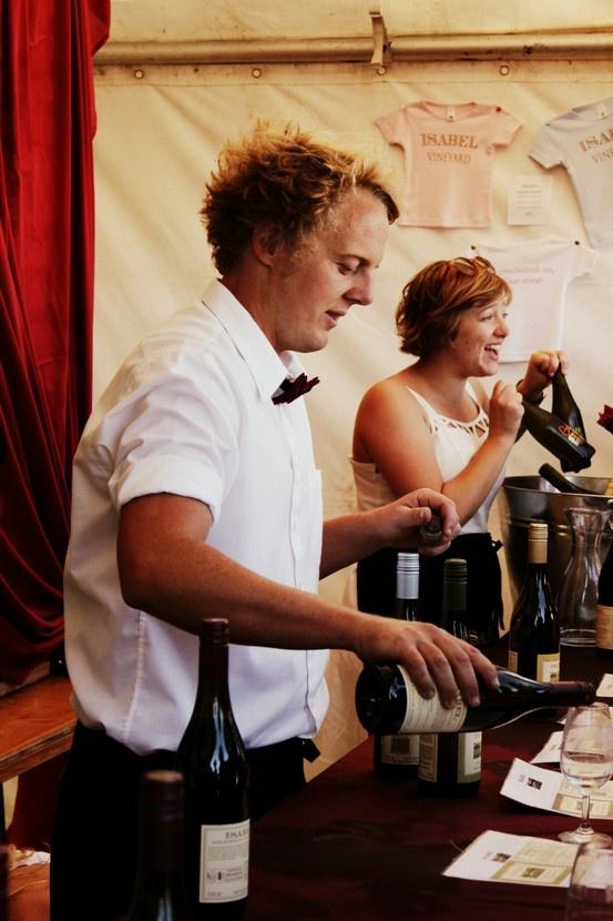 Brad & Sarah at the Marlborough Wine & Food Festival 2013