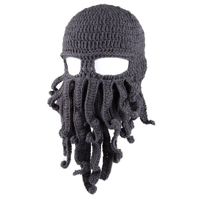 OCTOPUS BEARD HAT