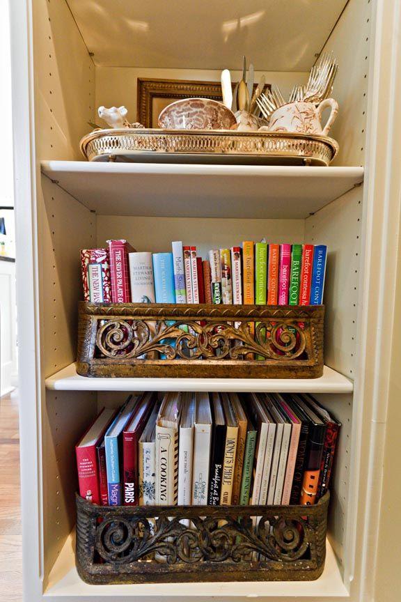 Best 25 cookbook storage ideas on pinterest spice rack for Kitchen ideas book