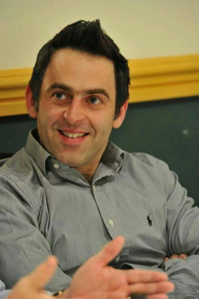 Ronnie O'Sullivan Love his smile