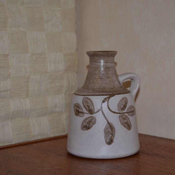 Strehla, GDR (1828-1989) Model: , Saxony, Germany (formerly East Germany). Vase - European - Pottery - ceramics - mid centery