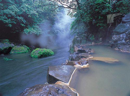 Day dreaming of rotemburo #onsen #spa Kirishima Onsen Japan
