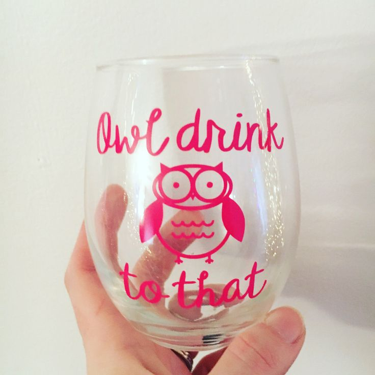 owl wine glass, best friend gift, funny wine glasses with sayings, owl lover gift, girlfriend gift, wine gift, 21st birthday gift for her by MjMaeDesigns on Etsy https://www.etsy.com/listing/488003852/owl-wine-glass-best-friend-gift-funny