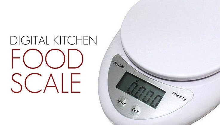 Win Win Deals! - Just $19 for a Brand New Digital Kitchen Food Scale! Get this Versatile Scale can be used in Kitchen, Mail Room or Office! Free Delivery!