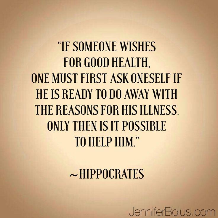 Health Quotes: #health #quote #hippocrates