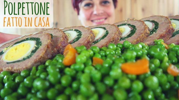 POLPETTONE RIPIENO FATTO IN CASA Ricetta Facile - Easy Meatloaf Recipe