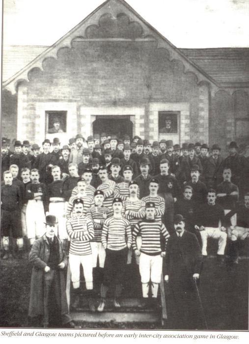 1885: Queens Park FC meets Sheffield FC