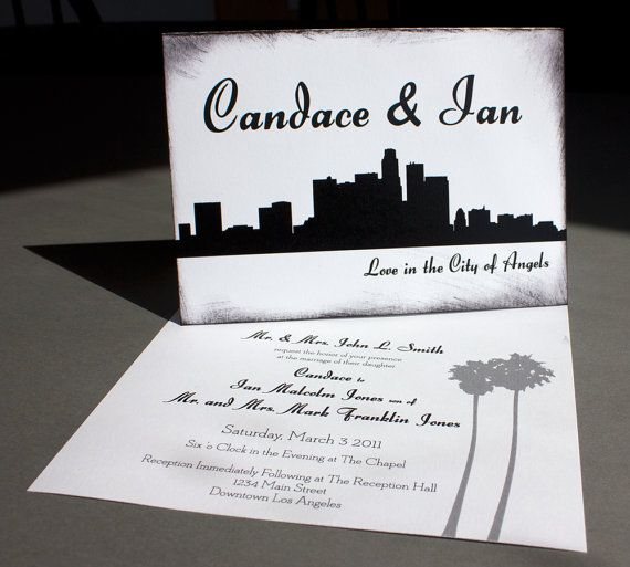 Wedding Invitations Los Angeles is an amazing ideas you had to choose for invitation design