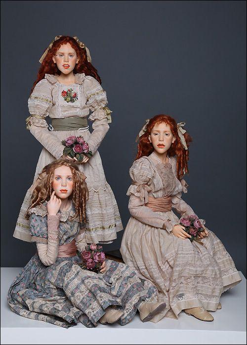 Фото художественных кукол на шарнирах от Михаила Зайкова