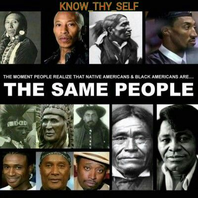 Or the fact these people have indigenous blood and on top of that all life comes from Africa http://www.99wtf.net/category/trends/