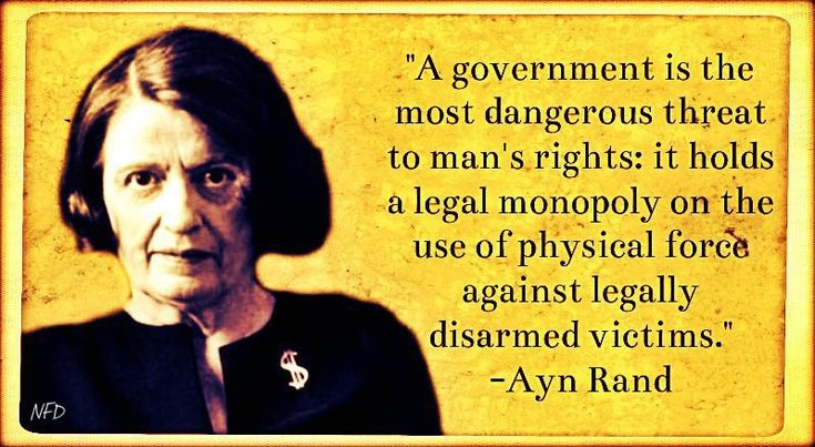 """Ayn Rand Quote: """"You're FREE TO BE COMMUNIST in a CAPITALIST AMERICA, but you COULDN'T BE A CAPITALIST in a COMMUNIST AMERICA!"""""""