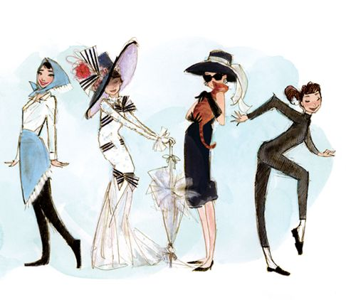 Audrey characters: Happy Birthday, Audrey Hepburn, Style Icons, Audreyhepburn, Breakfast At Tiffany, Funny Faces, Children Books, Fashion Illustrations, Fashion Drawings