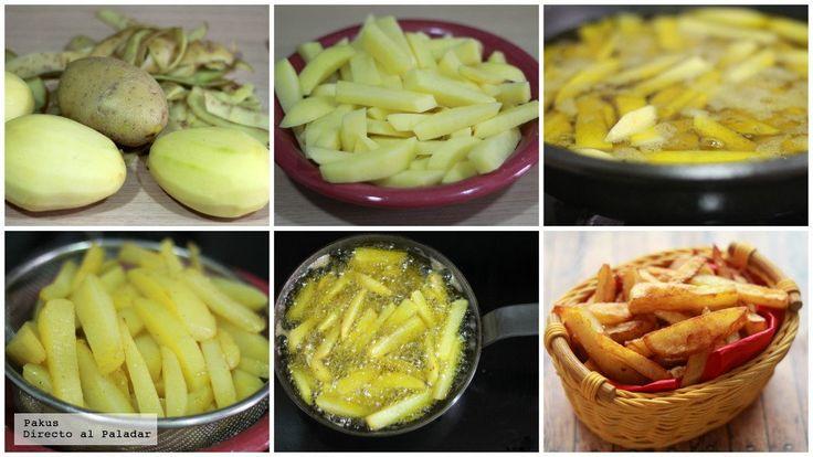 Cómo hacer las mejores patatas fritas del mundo mundial - Taringa!