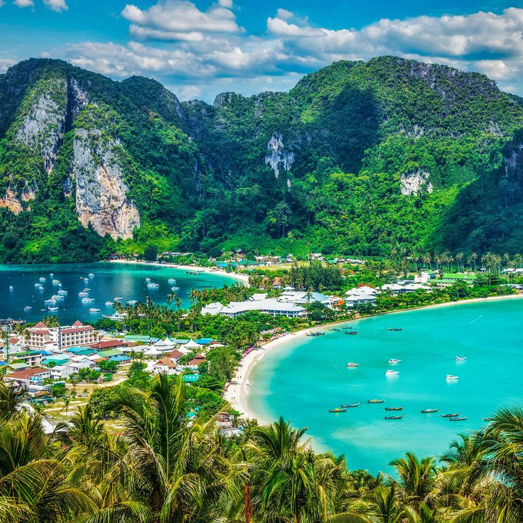 Phi Phi Beach: The World's Most Beautiful Beach Cities Where You Can Live