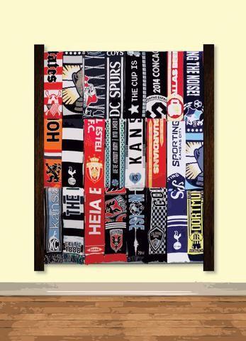 Nou | Soccer Scarf Display Rack