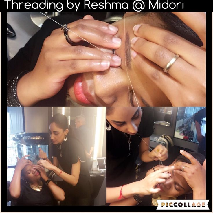 For the perfect eyebrows come to Midori for threading. Other threading also available. For bookings call 0117843488/7894.