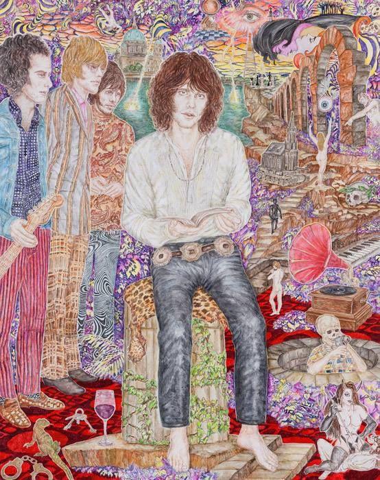 Abetz & Drescher, The Doors 2011, Acryl auf Leinwand Acrylic on canvas, 250 x 200 cm