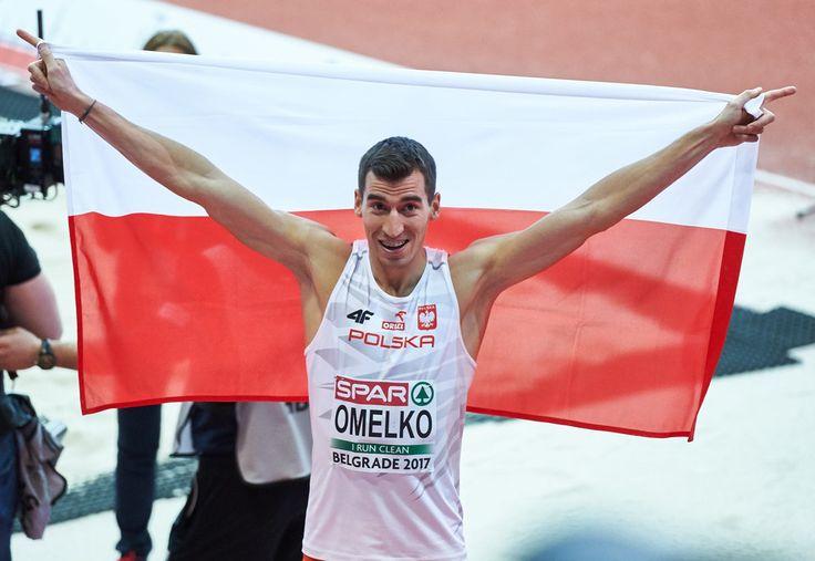 Rafał Omelko - srebrny medal w biegu na 400 m