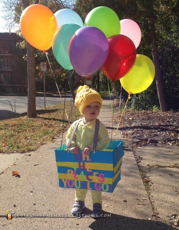 Oh, the Places You'll Go! Dr. Seuss Costume...