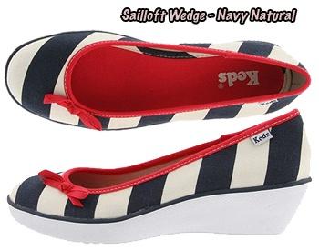 Sailor Wedge Keds: Heart Stripes, Shoes Mor, Sailors Wedges, Sailloft Wedges, 4Th Of July, Keds Wedges, Wedges Keds Cut, Keds Shoes Should, Keds Sailloft